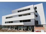 Insulated metal panel for facade TERMOPARETI® WP/ST - ELCOM SYSTEM