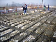 Insulating formwork for reinforced concrete slabs TERMOSOLAIO - BIOISOTHERM