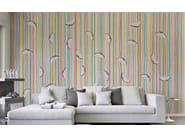 Motif wallpaper TESTE VOLANTI - Wallpepper