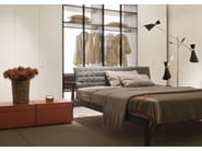 Wooden double bed THEO - Lema