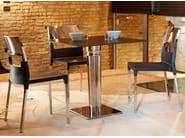 Contemporary style aluminium table TIFFANY DIAMANTE | Table - SCAB DESIGN