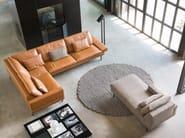Fabric chaiselounge TIGRA | Lounge chair - Jori