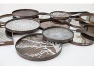Rectangular wooden tray TILE   Tray - Notre Monde
