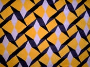 Rectangular wool rug with geometric shapes TILES | Handmade rug - Two Six