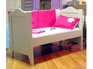 Wooden cot with storage space TILLEUL | Cot - Mathy by Bols