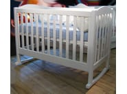 Rocking wooden cot TILLEUL | Rocking cot - Mathy by Bols