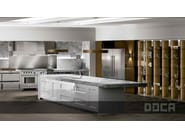 Classic style kitchen with island TIMELESS BLANCO BRILLO / ELEGANCE - Doca