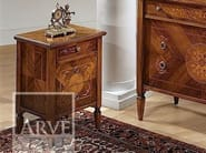 Wooden bedside table with drawers TINTORETTO | Bedside table - Arvestyle