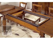 Extending rectangular wooden table TIZIANO | Table - Arvestyle