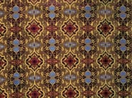 Classic style damask silk fabric TOLEDE - LELIEVRE