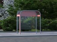 Multifunction porch for bus stop TONI - LAB23 Gibillero Design Collection