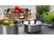 Stainless steel stewpan with lid TOOLS | Stewpan with lid - iittala