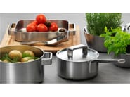 Stainless steel pot with lid TOOLS | Pot - iittala