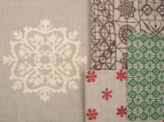 Jacquard fabric with graphic pattern TORINO 06 GEO - l'Opificio