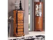Lacquered solid wood corner display cabinet TORINO | Display cabinet - Arvestyle