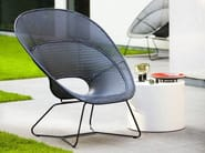 Poltroncina da giardino in polietilene TORNAUX OUTDOOR - Feelgood Designs