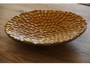 Terracotta dinner plate TOUCH - Domani