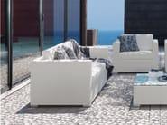 2 seater textilene garden sofa TOUCH | Garden sofa - Talenti