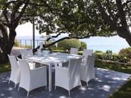 Garden armchair with armrests TOUCH   Garden armchair - Talenti