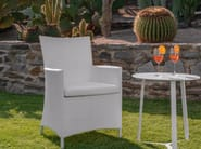 Garden armchair with armrests TOUCH | Garden armchair - Talenti