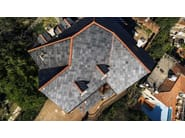 Slate roof tile TOULA 40x40 - B&B
