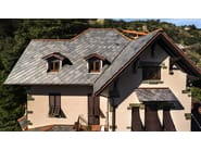 Slate roof tile TOULA 40X40 | Slate roof tile - B&B