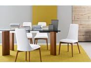 Extending rectangular table TOWER WOOD - Calligaris