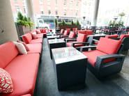 Garden armchair TRANQUILITY | Garden armchair - 7OCEANS DESIGNS
