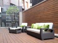 Rectangular garden pouf TRANQUILITY | Rectangular garden pouf - 7OCEANS DESIGNS