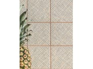 Porcelain stoneware wall/floor tiles TRATTI CROISÉE - MUTINA