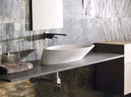 Countertop oval natural stone washbasin TREND - L'Antic Colonial