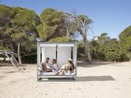 Thermo lacquered aluminium garden sofa AL FRESCO | Sofa - GANDIA BLASCO