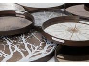 Round tray TRIBAL STRIPE - Notre Monde