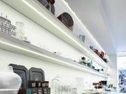 Built-in extruded aluminium LED light bar TRIBECA - PANZERI