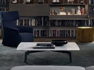 Square marble coffee table TRIBECA | Square coffee table - Poliform