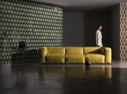 Geometric wallpaper TRIBUTE - Wall&decò