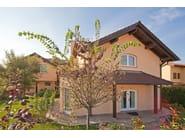 Prefab timber home TRIFAMILIARE - Spazio Positivo by Rensch-Haus