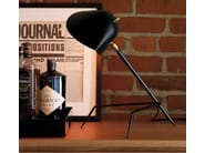 Lampada da scrivania orientabile in metallo TRIPODE - Editions Serge Mouille