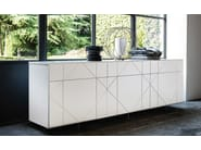 Lacquered sideboard TROPEZ - Cattelan Italia