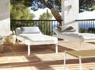 Letto da giardino reclinabile in tessuto TROPEZ | Letto da giardino reclinabile - GANDIA BLASCO