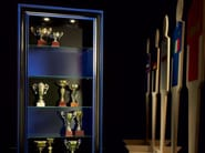 Display cabinet custom made feature high end furniture - Football Collection - Modenese Gastone