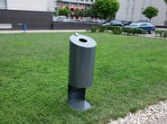 Stainless steel dog waste bin TUBO D - Tubo / ZZ Concept