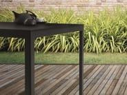 Square powder coated aluminium table TYPE | Powder coated aluminium table - iCarraro italian makers