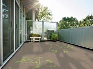 Outdoor floor tiles Triflex Floor Tattoos - Triflex Italia