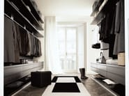 Sectional walk-in wardrobe UBIK - Poliform
