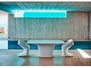 Polyethylene garden chair UFO | Chair - VONDOM