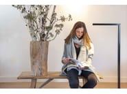 LED adjustable aluminium floor lamp with dimmer ULTIMO | Floor lamp - FERROLIGHT DESIGN