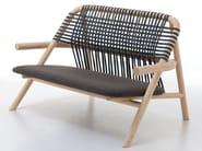 Wooden small sofa UNAM 05 C/P - Very Wood