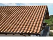 Clay bent roof tile Unika® - FORNACE LATERIZI VARDANEGA ISIDORO