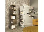 Libreria a giorno componibile modulare in abete UNO+ UNO – - ARKOF LABODESIGN